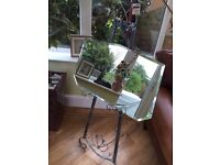 Art Deco Bevelled mirror