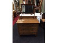 Fantastic vintage chest of drawers/dressing table