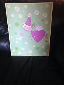Print for baby/little girls room.