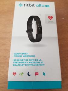 FITBIT SALE! - Fitbit Alta HR Fitness Tracker - Small - Black