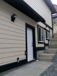 $1150 one year old 2 bedrooms legal suite in north nanaimo