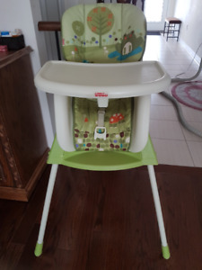 4 in 1 Fisher Prize high chair