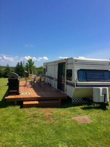 CAMPER FOR RENT in beautiful Anne's Land minutes from Cavendish