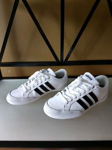 Adidas  neo fly all white sneakers