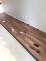 LAMINATE FLOORING INSTALLED