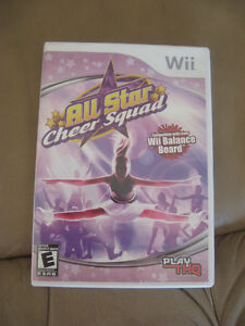 WII Game - All Star Cheer Squad