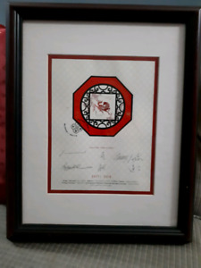 2002 Year of the horse framed limited edition stamp