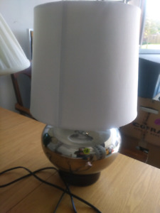 Various lamps for sale.