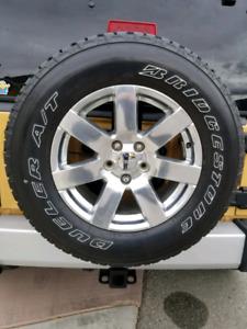 Jeep Wrangler Sahara Tire and Wheel