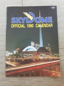 1980 Sky Dome Calendar