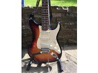 Fender Squire Strat in Sunburst