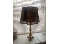 Antique lamp French Baroque style (reduced)