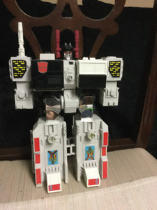 Transformers G1 METROPLEX body 1985 no accessories