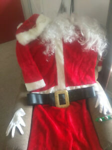 Santa Claus Suit. Gently worn. Higher quality.