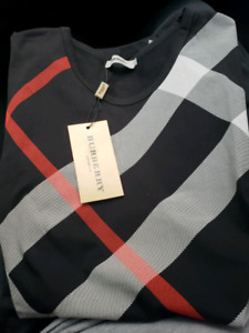 BLACK BURBERRY T-SHIRT!! ONLY $140!!