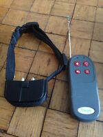 Vibrating training collar