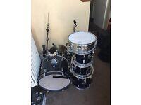 5 piece TAMA drum kit