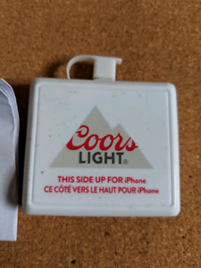 Coors light emergency phone charger