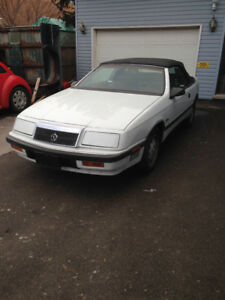 1988 Lebaron Convertible turbo $4395