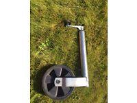 Trailer jockey wheel new unused 50mm