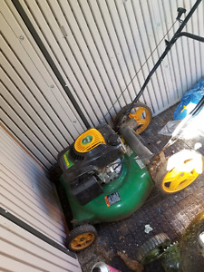 Weedeater 140CC lawnmower (not working)