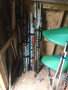 Broken Hockey Sticks