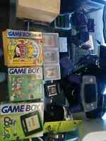 Gbc gba and games