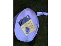 2 man pop-up tent with a problem £5
