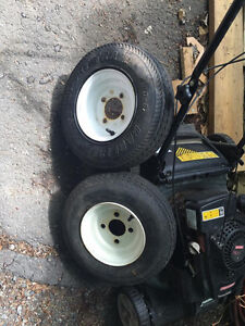 trailer tires for boat, small camper or utility trailer