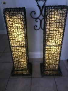 Modern Lighting Set of 2 outdoor/inddoor lights
