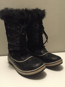 Sorel Tofino Women's Black Winter Boots Size 9