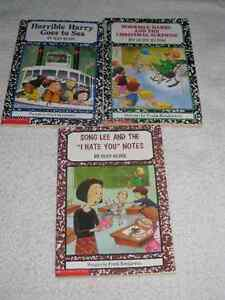HORRIBLE HARRY - CHAPTERBOOKS by SUZY KLINE - ONLY A FEW LEFT!