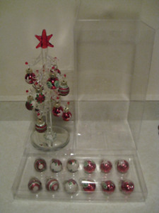 **Bombay Small Clear Colour Christmas Tree**