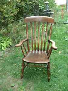 Refinished Oak Arm Chair