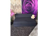 New Kempton Children's Sofa Bed in Black