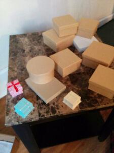 sacs et boites cadeaux