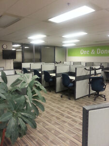 Office Panels and Office Cubicles Used / Refurbished