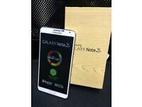Samsung galaxy note 3 white unlocked 32gb