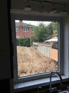 Windows and sliding patio door!