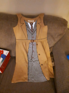 Doctor Who 10th Doctor cosplay type dress