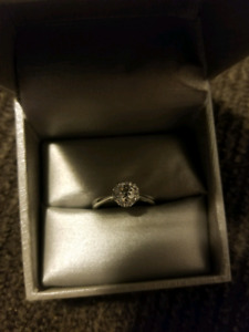 Canadian Diamond Solitaire ring
