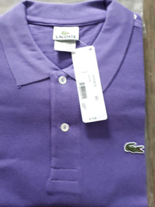 Lacoste Mens Golf Shirt Size Large