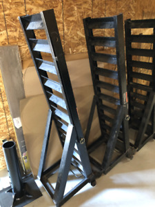 HD LOADING RAMPS Stand Up Style for Flatdeck Trailer