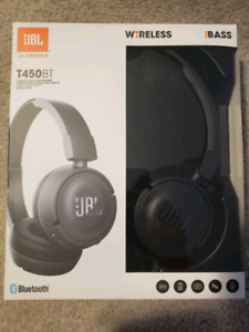 JBL T450BT  Wireless Bluetooth Headphones Over Ear
