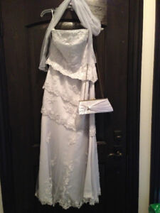 Beautiful wedding, prom or special occasion dress