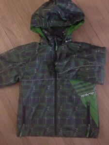 Size 4 lined/wind proof/waterproof coat