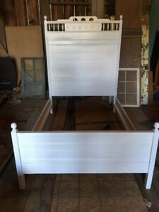 Antique Eastlake Bed Frame