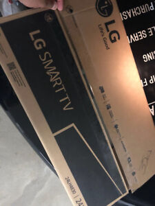 """24"""" lg led smart tv with wall mount"""