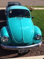 1972 vw super beetle