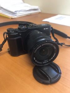 Fujifilm X-A1 with 16-50mm lens